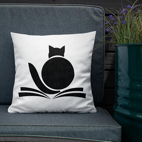 Fat Cat - Premium Throw Pillows