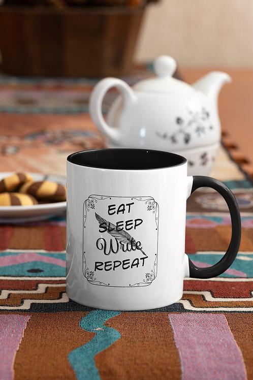 Eat Sleep Write Repeat - Mug