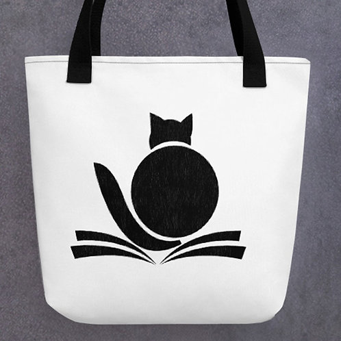 The Fat Cat Tote Bag - Cute gift for cat lovers