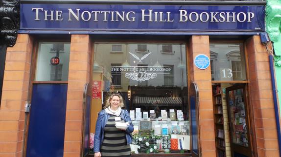 """La fameuse boutique de """"Coup foudre à Notting Hill"""""""