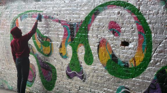 Leake Street et son street art