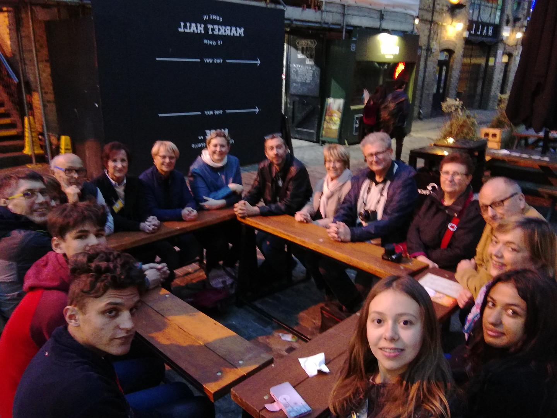 Premier repas à Camden Town