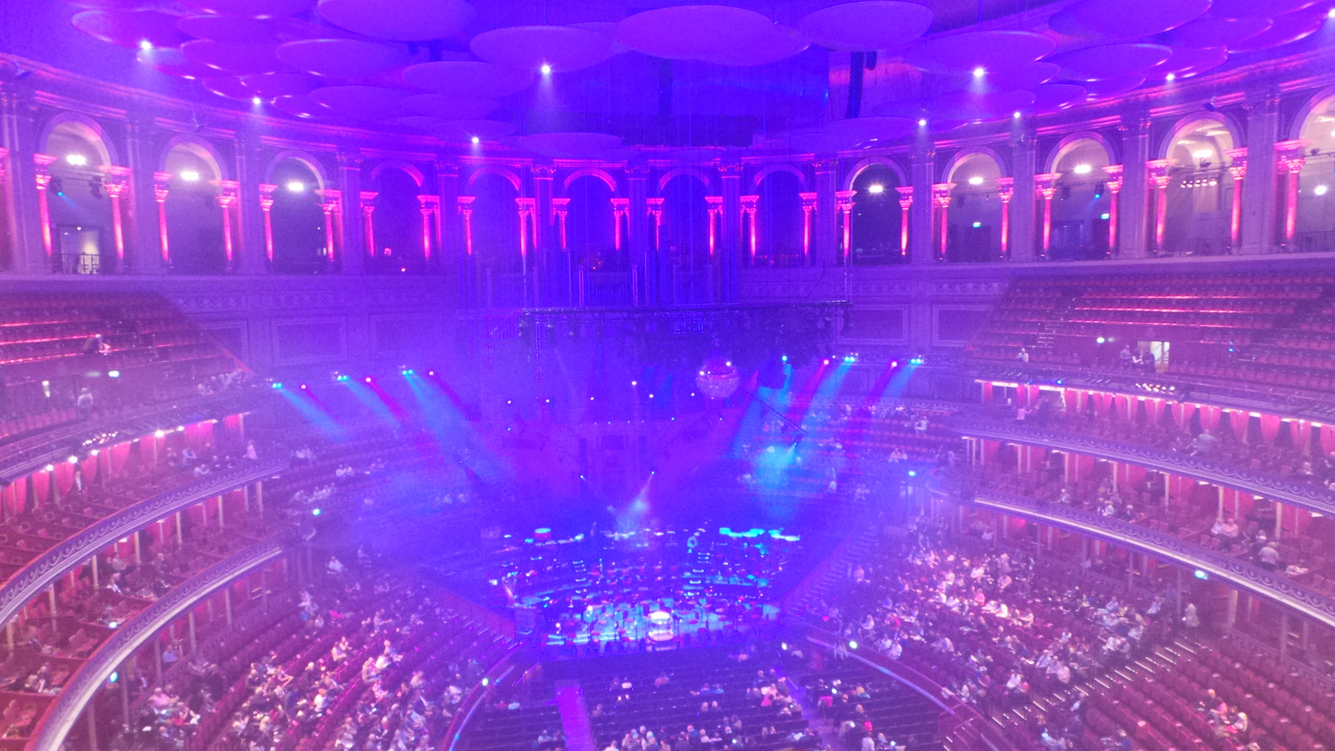 La salle du Royal Albert Hall