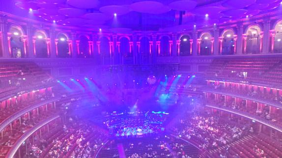 La salle du Royal Albert Hall