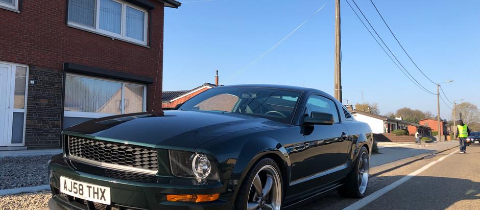 V8UK at Mustang Fever, Belgium
