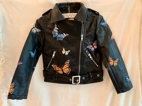 Butterfly Leather Jacket