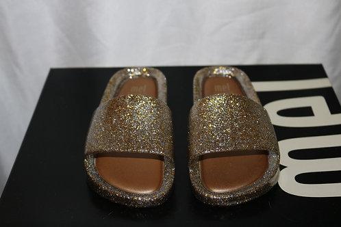 Mini Melissa Gold Slides