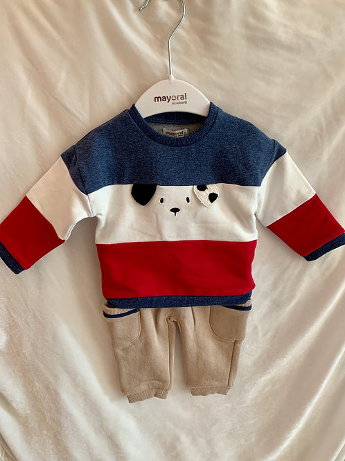 Red, White, Blue Dog Sweater 2pc