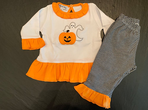Pumpkin & Ghost 2pc