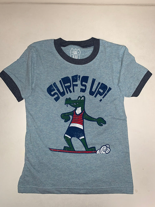 W&W Surf's Up Gator Tee