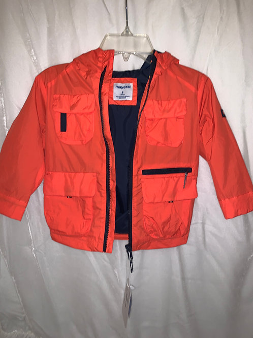 Mayoral Orange Windbreaker