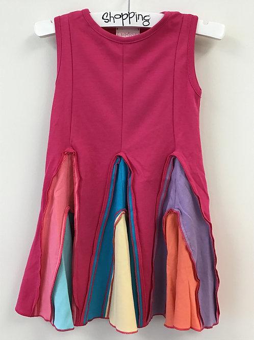 Fuchsia Dress of Many Colors