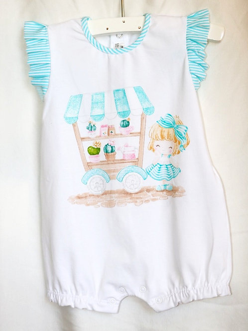 Doll With Cart Onesie