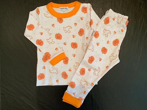 Pumpkin & Ghost Pj Set