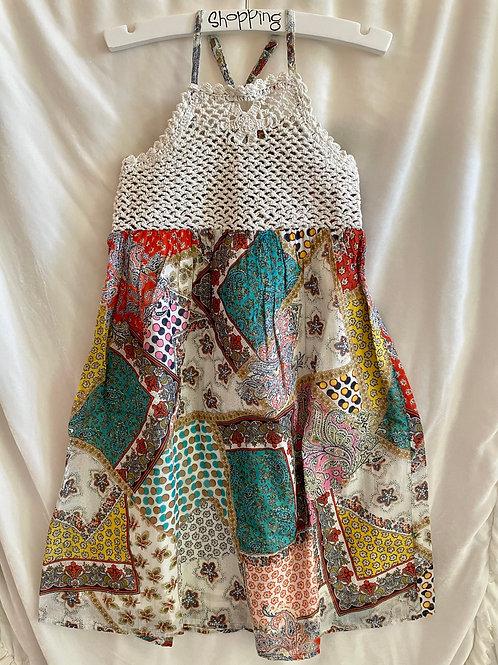 Crochet Patterned Dress