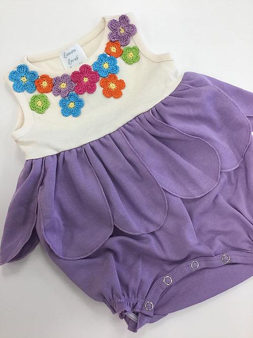 Lilac Petal Romper