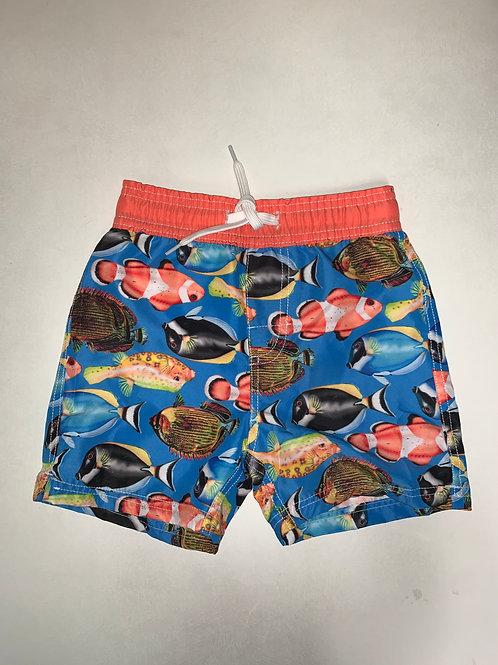 W&W Fish Swim Trunks