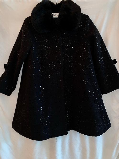 Black Sparkle Coat