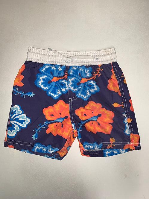 W&W Hibiscus Swim Trunks