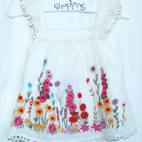 Flower Tank and Shorts 2pc