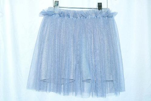 Grey and Blue Tulle Skort
