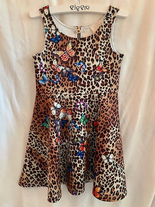 Hannah Banana Cheetah Butterfly Dress