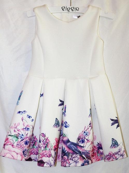 Bird and Flower Dress