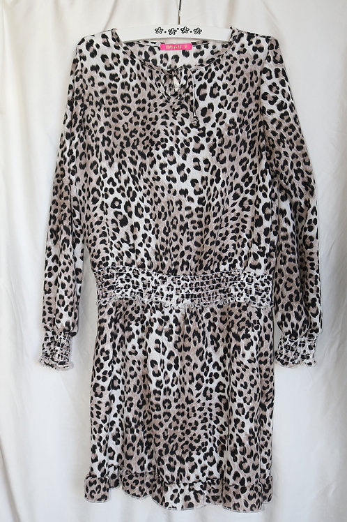 Cheetah Long Sleeve Dress