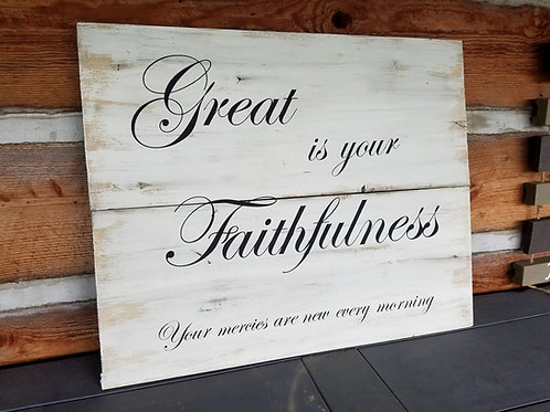 "24"" x 36"" Custom Wood Signs"