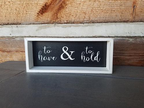 "4"" x 10"" Custom Wood Signs"