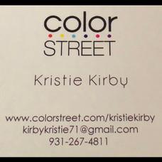 Color street - Kristie Kirby