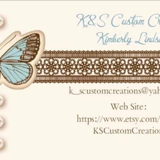 K&S Custom Creations - Kimberly Lindsay.