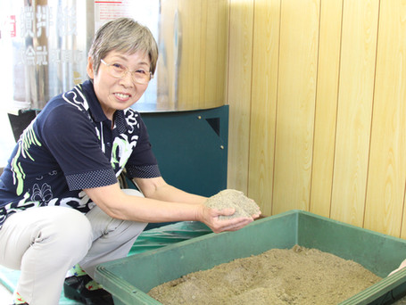 家庭の生ごみでボカシ肥料作り
