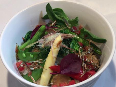 湯津上村民食堂オープン 厩肥使用の野菜を