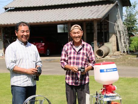 水稲除草剤散布ボートを自作