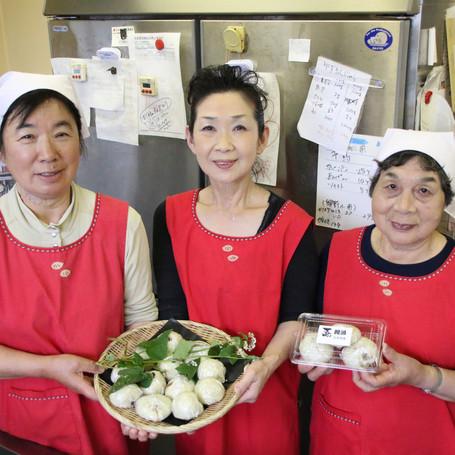地元産そば粉で「蕎饅頭」 興野を盛り上げたい