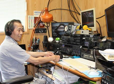 アマチュア無線で世界の人と交流