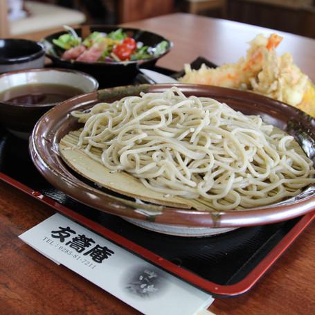 栽培から提供まで ソバ「友蕎庵」