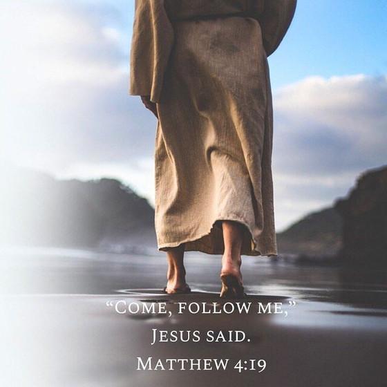 """""""Follow me,"""" he said."""