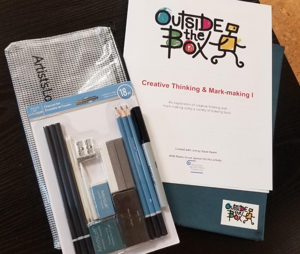 mark-making kit