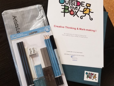 Take Home Project Kit- Creative Thinking and Mark-Making