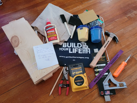 Take Home Project Kit- Build Your Own Toolbox