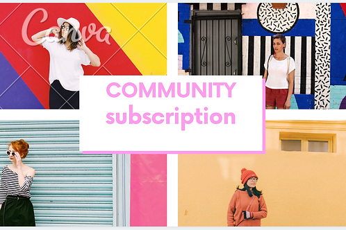 Community Subscription