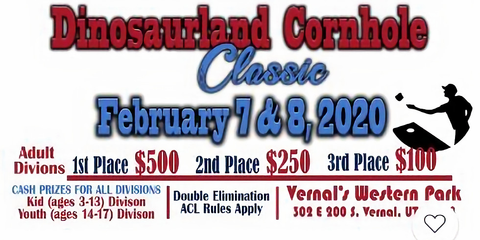 Dinosaurland Cornhole Classic