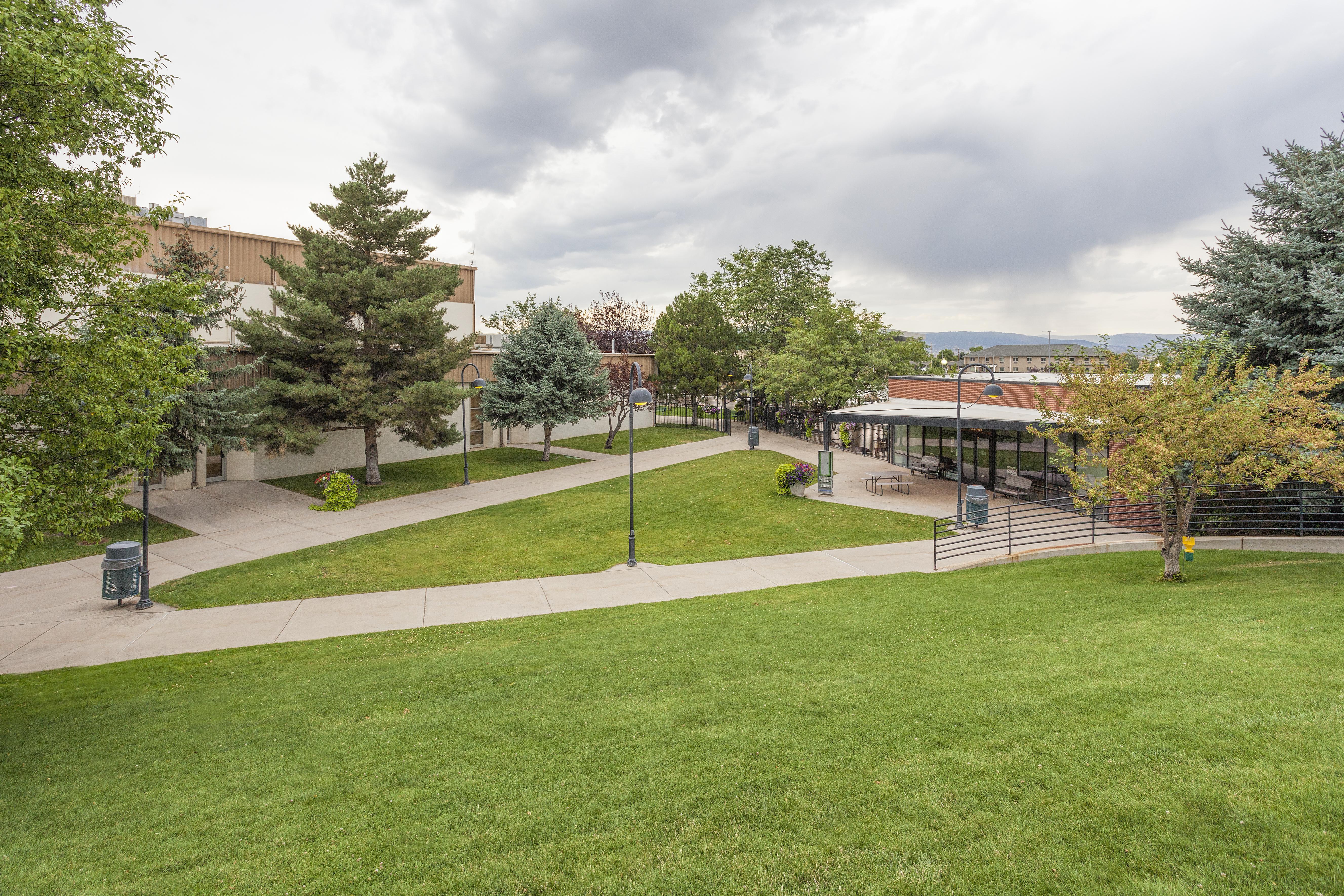 Western Park Mall Area