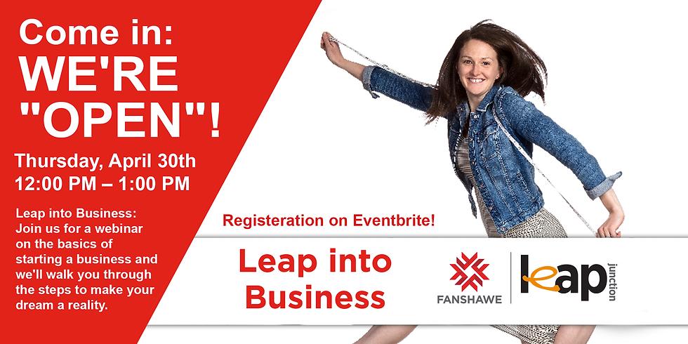 Leap into Business Webinar