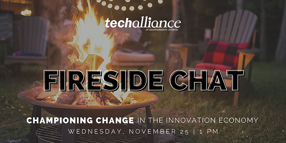 Fireside Chat | Championing Change in the Innovation Economy