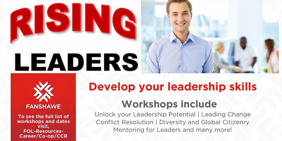 RISING LEADERS Workshop Series