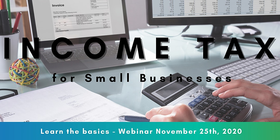 Income Tax for Small Businesses Webinar