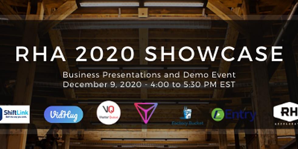 RHA 2020 Showcase